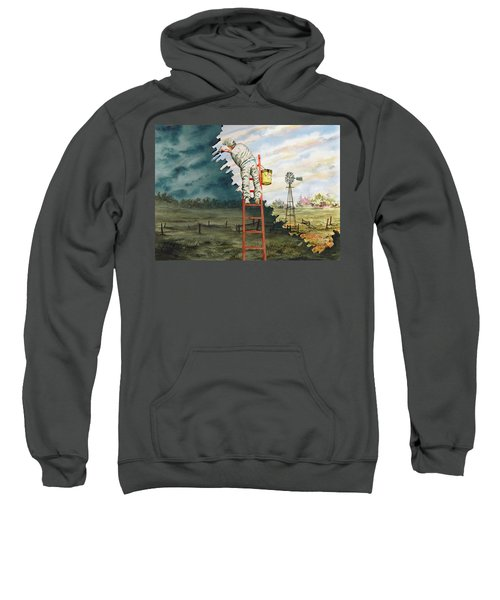 Paintin Up A Storm Sweatshirt