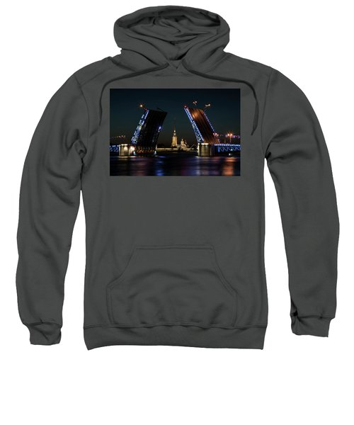Palace Bridge At Night Sweatshirt