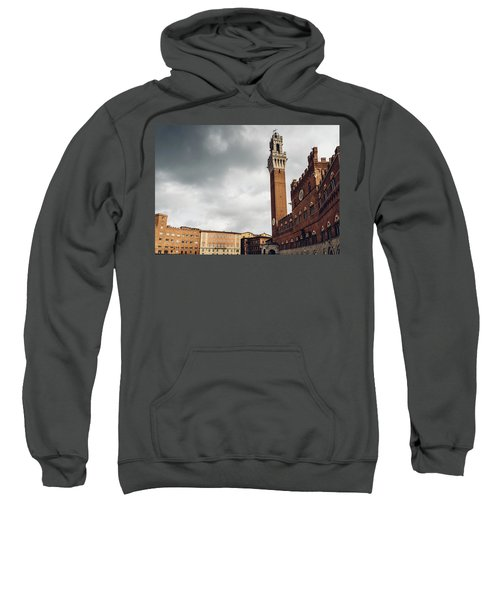Palazzo Pubblico, Siena, Tuscany, Italy Sweatshirt
