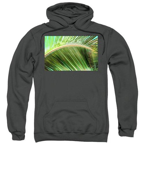 Palm Frond Sway Sweatshirt