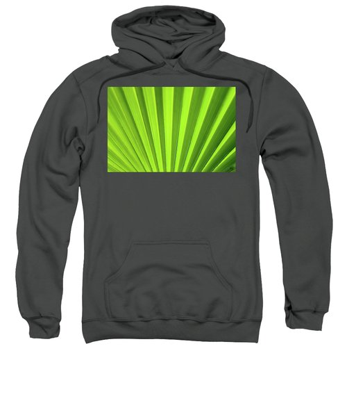 Palm Leaf Abstract Sweatshirt