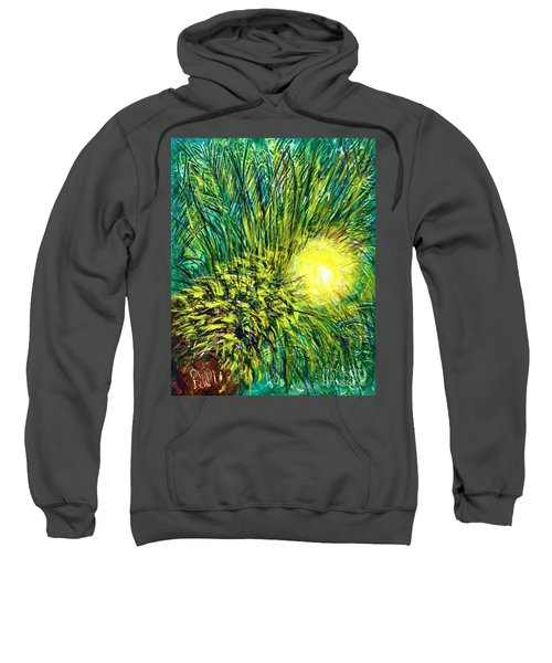 Palm Sunburst  Sweatshirt