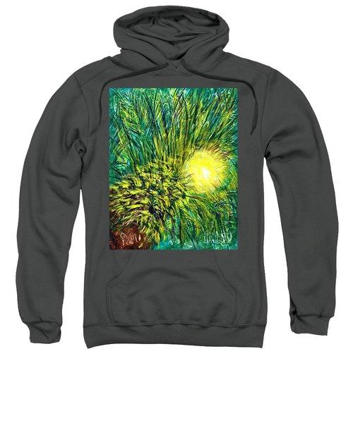Palm Sunburst  Sweatshirt