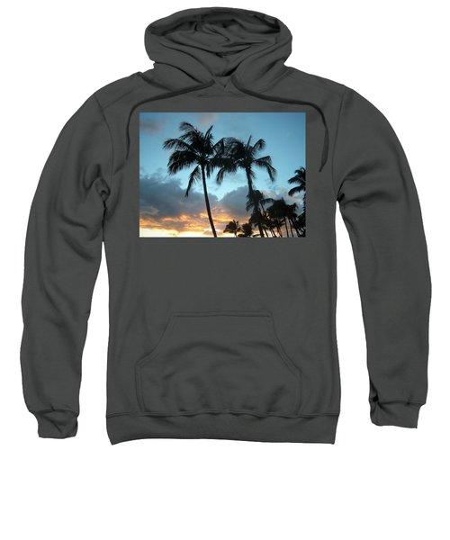 Palm Trees At Sunset Sweatshirt