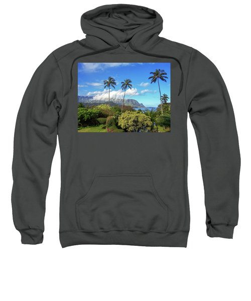 Palms At Hanalei Sweatshirt