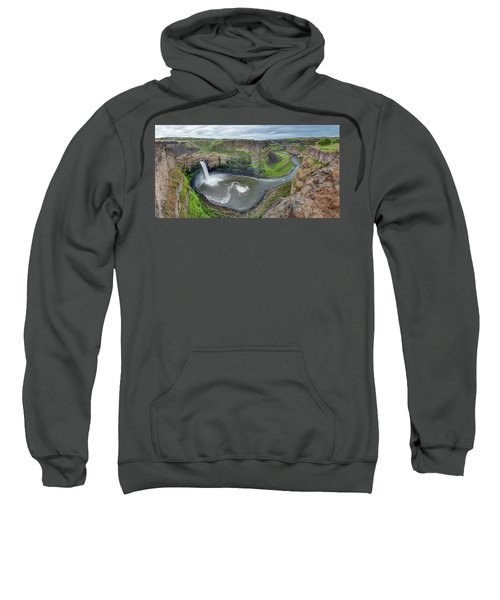 Palouse Falls In The Spring Sweatshirt