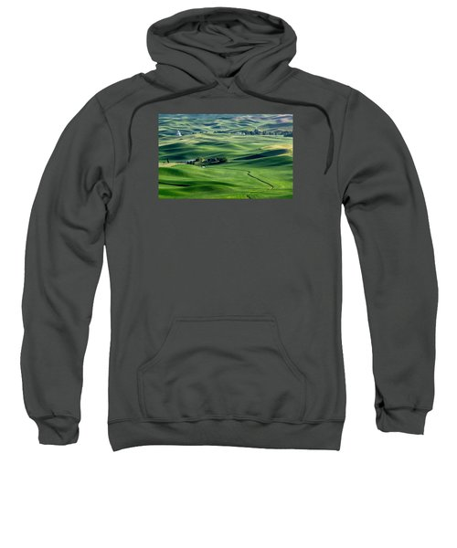 Palouse Wheat Farming Sweatshirt