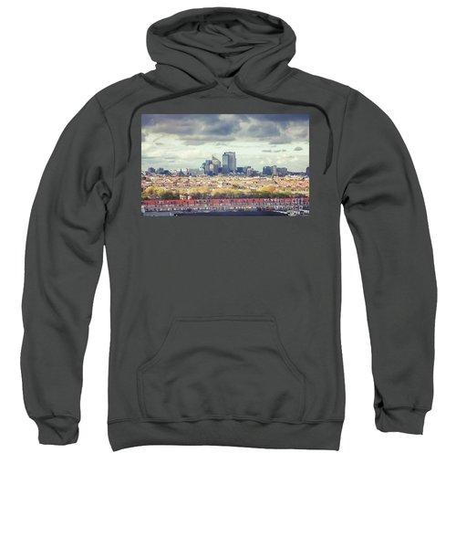 panorama of the Hague modern city Sweatshirt