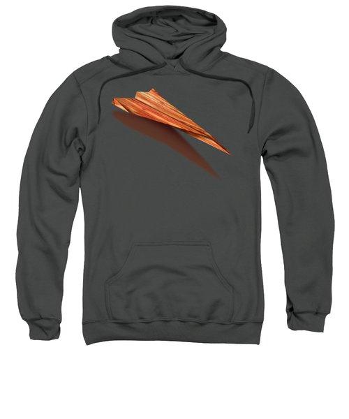 Paper Airplanes Of Wood 4 Sweatshirt