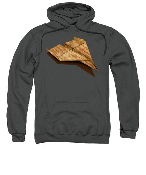 Paper Airplanes Of Wood 5 Sweatshirt