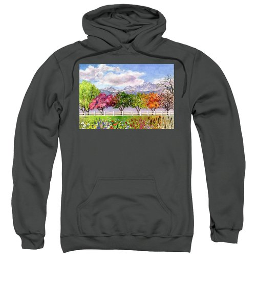 Parade Of The Seasons Sweatshirt