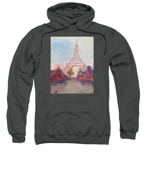 Paris In Pastel Sweatshirt by Roxy Rich