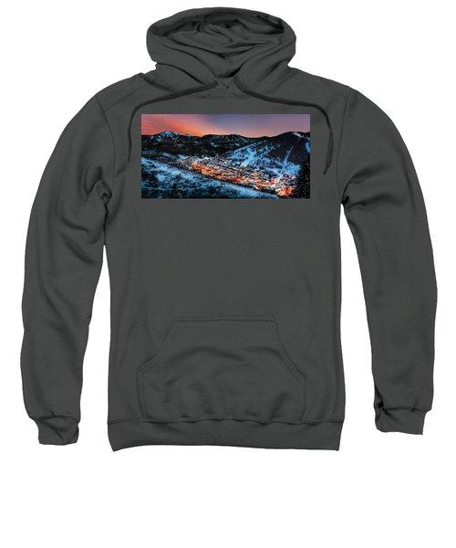 Park City Winter Sunset Sweatshirt
