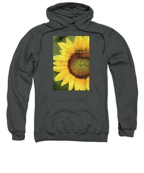 Part Of A Sunflower Sweatshirt