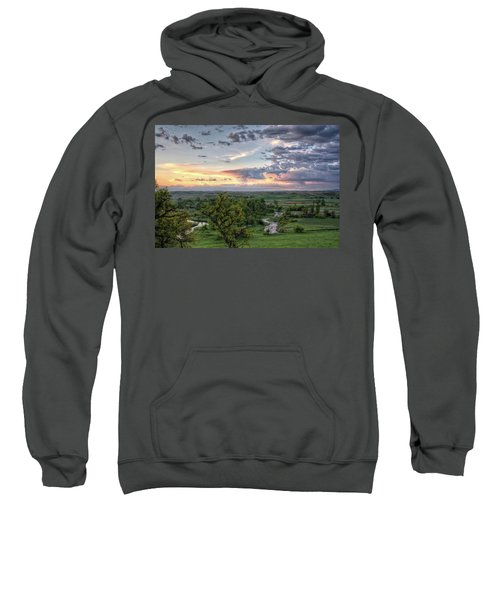 Pastel Spring Morning Sweatshirt