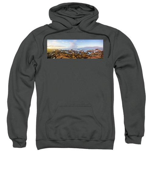 Pastel Tone Seaside Sunrise Sweatshirt
