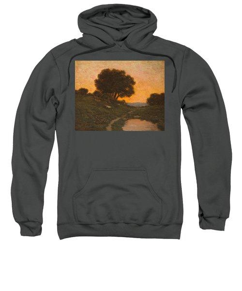 Pastoral Scene At Sunset  Sweatshirt
