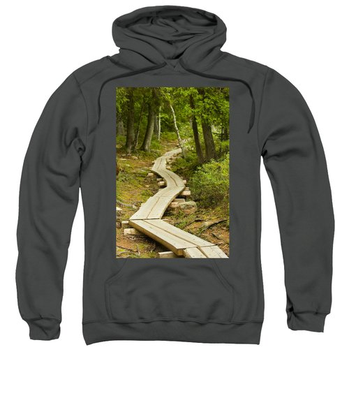 Path Into Unknown Sweatshirt