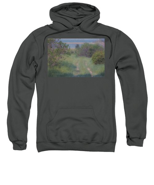Path To The Sea - Duxbury Ma Sweatshirt