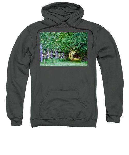 Pathway To A Sunny Summer Morning  Sweatshirt