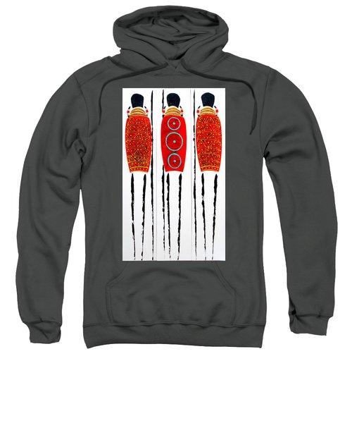Patterned Masai Triptych Sweatshirt