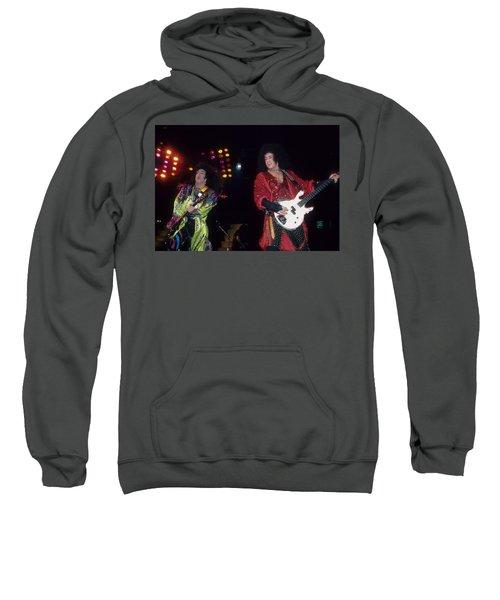 Paul Stanley And Gene Simmons Of Kiss Sweatshirt