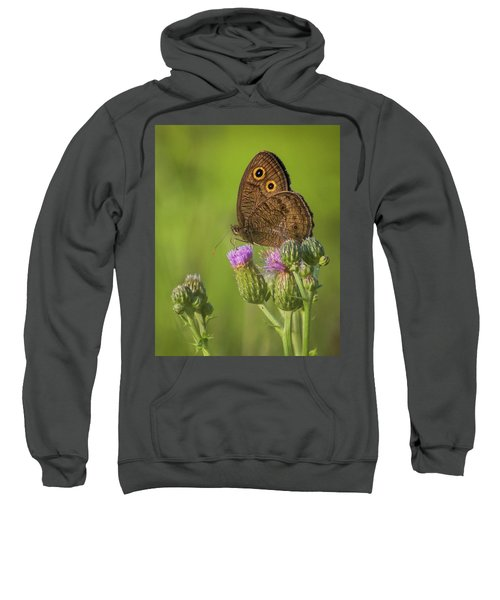 Sweatshirt featuring the photograph Pauper's Throne by Bill Pevlor