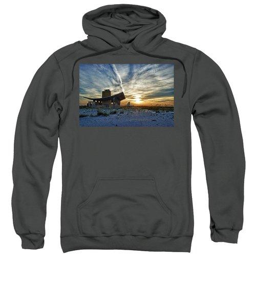 Pavillion And The Beach Sweatshirt