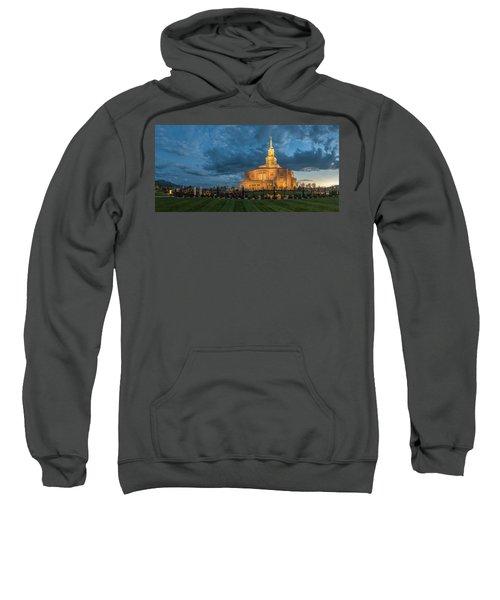 Payson Temple Panorama Sweatshirt