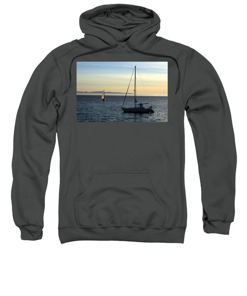 Peaceful Day In Santa Barbara Sweatshirt
