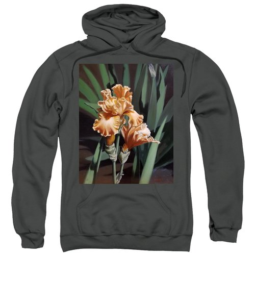 Peach Iris Sweatshirt