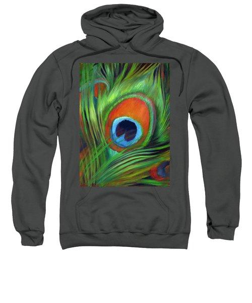 Peacock Feather Sweatshirt