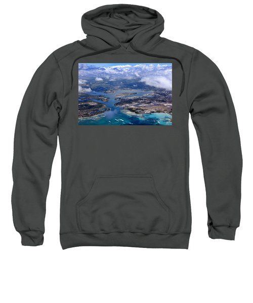 Pearl Harbor Aerial View Sweatshirt