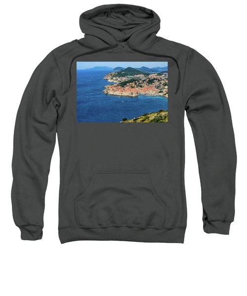 Pearl Of The Adriatic, Dubrovnik, Known As Kings Landing In Game Of Thrones, Dubrovnik, Croatia Sweatshirt
