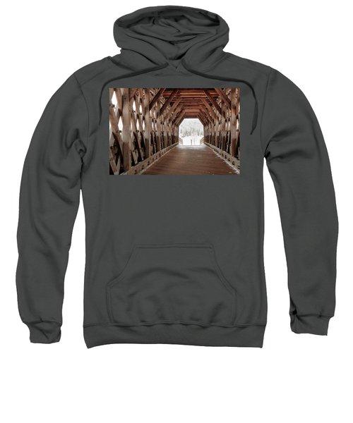Pedestrian Lattice Bridge Sweatshirt