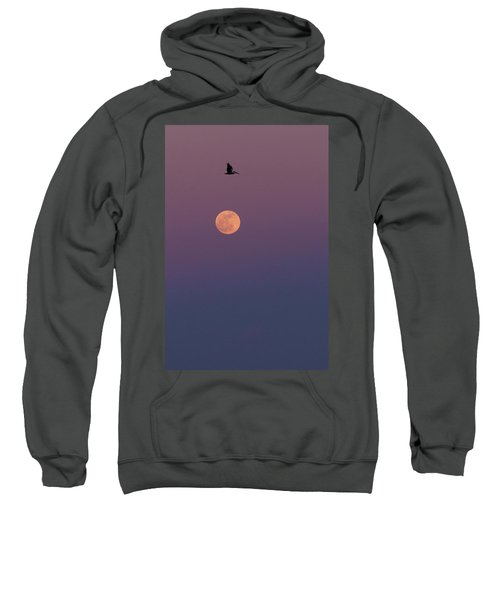Pelican Over The Moon Sweatshirt