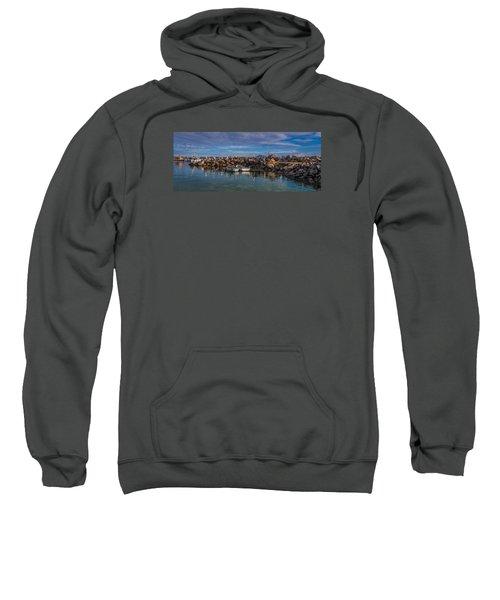 Pelicans At Eden Wharf Sweatshirt
