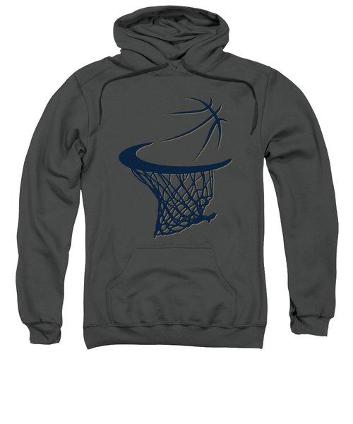Pelicans Basketball Hoop Sweatshirt by Joe Hamilton