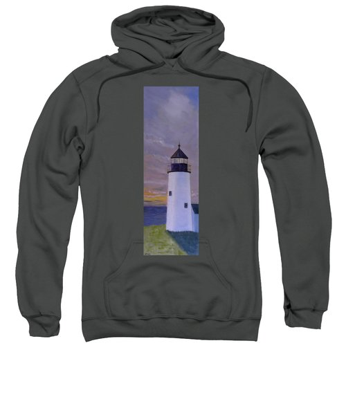Pemaquid Light Morning Light Sweatshirt