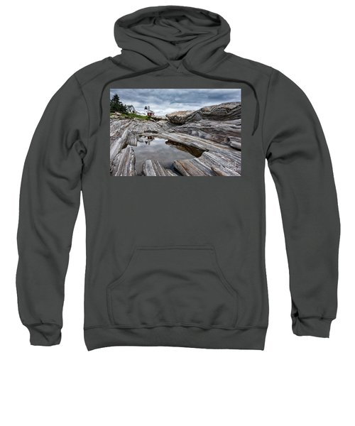Pemaquid Point Lighthouse Sweatshirt