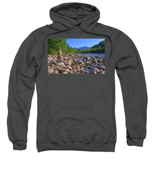 Pemigewasset River, North Woodstock Nh Sweatshirt