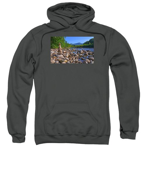 Pemigewasset River, North Woodstock Nh Sweatshirt