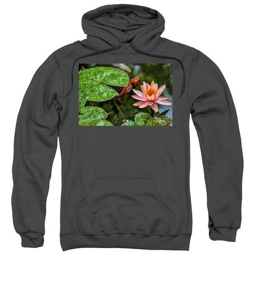 Perfect Beauty And Koi Companion Sweatshirt