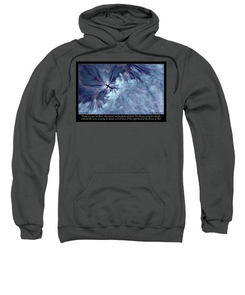 Perfecter Of Faith Sweatshirt