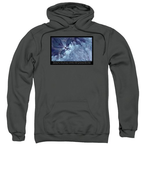 Perfecter Of Faith Sweatshirt