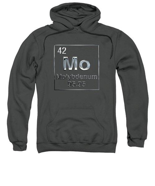 Periodic Table Of Elements - Molybdenum - Mo Sweatshirt