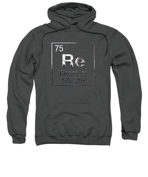 Periodic Table Of Elements - Rhenium Sweatshirt