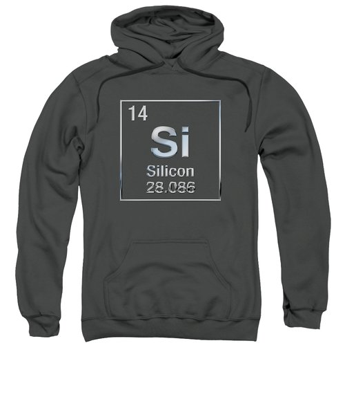 Periodic Table Of Elements - Silicon - Si  Sweatshirt