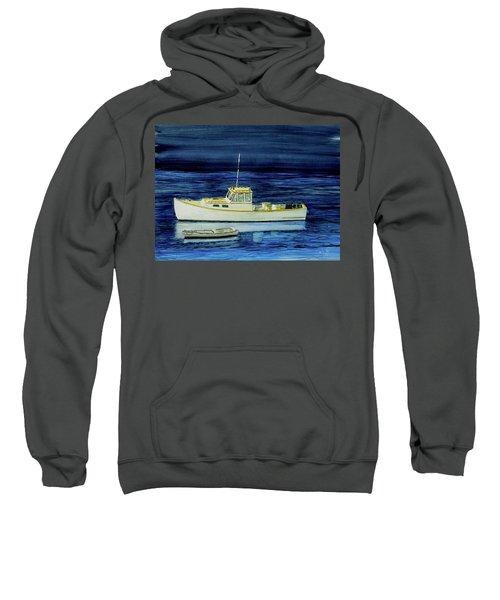 Perkins Cove Lobster Boat And Skiff Sweatshirt