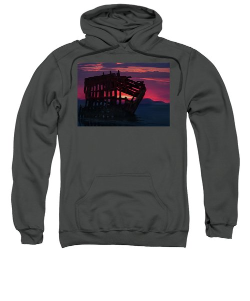Peter Iredale Shipwreck Sweatshirt
